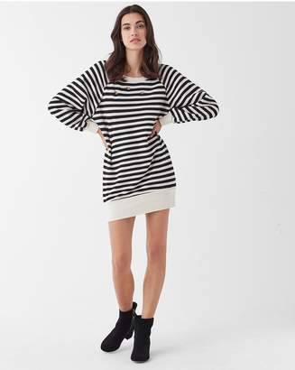 Splendid West Village Stripe Terry Dress