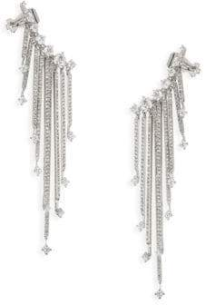 Adriana Orsini Greta Fringed Earrings