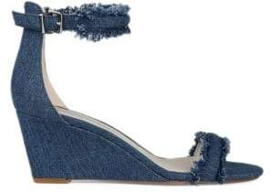 Kenneth Cole New York Davis Denim Wedge Sandals