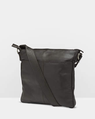 Oxford Aiden Leather Messenger Bag