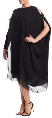 Marina Rinaldi Marina Rinaldi, Plus Size Elegante Diana Cold Shoulder Dress