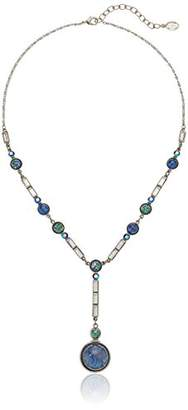 Swarovski Ben-Amun Jewelry Eclipse Lunar Crystal Y-Shaped Necklace