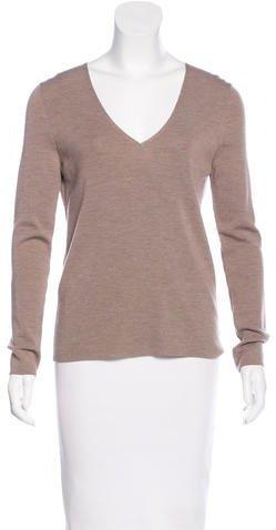 Akris PuntoAkris Punto Wool V-Neck Sweater