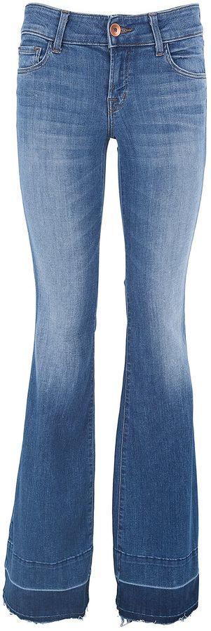 J BrandJ Brand Love Story Flare Cotton-denim Jeans