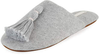 Skin Vara Tasseled Knit Slipper with Cooling Material