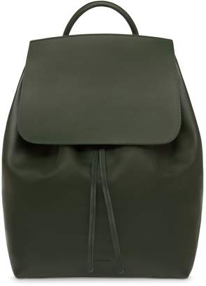 Mansur Gavriel Calf Men's Backpack - Moss