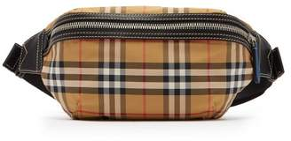Burberry Sonny Cross Body Bag - Mens - Tan Multi