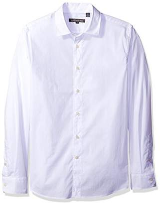 Slate & Stone Men's Thomas Long-Sleeve Point-Collar Shirt With Stretch