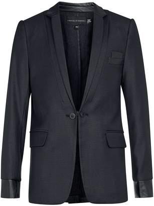 Topman ROGUES OF LONDON'S Longline Grey Suit Jacket