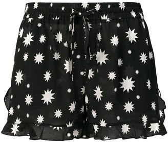 RED Valentino star print short shorts
