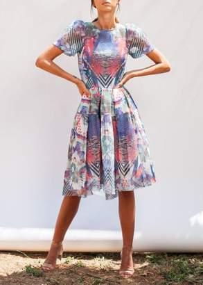 Khaite Katharine Kidd thalia dress multi