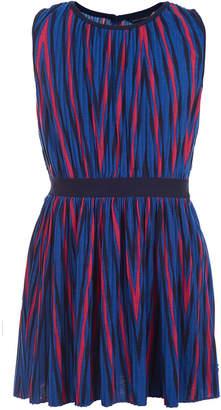 Tommy Hilfiger Big Girls Pleated Striped Dress