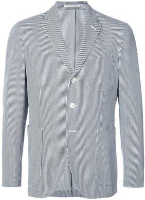Holiday pinstripe blazer