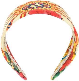 Dolce & Gabbana Pre-Owned printed headband