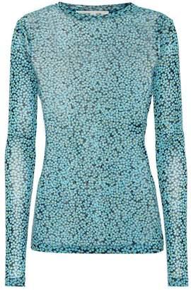 Diane von Furstenberg Floral-printed top