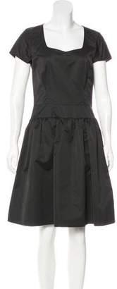 Reiss Short Sleeve A-Line Dress