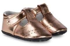 Jack & Lily Baby Girl's Metallic Dress Shoes