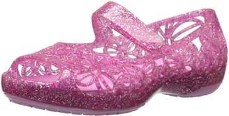 Crocs Girl's Isabella Glitter PS Flat