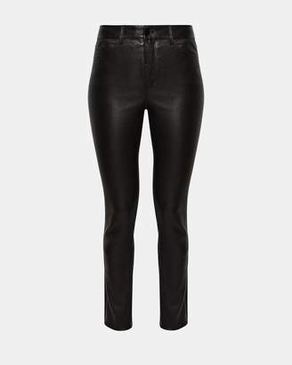 Theory Five-Pocket Leather Pant