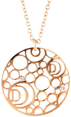 Damiani 18K Rose Gold Diamond Necklace