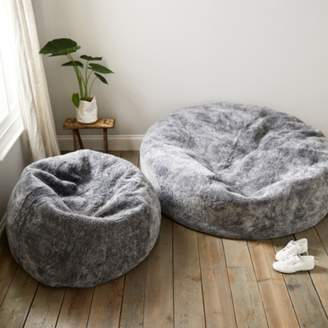 The White Company Curly Sheepskin Beanbag