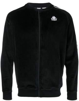 Kappa logo embroidered bomber jacket