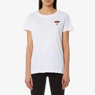 Karl Lagerfeld Women's Ikonik Emoji T-Shirt
