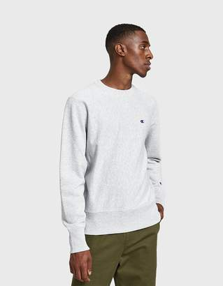 Champion Reverse Weave RW Crewneck Sweatshirt in Grey