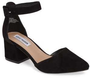 Women's Steve Madden Dainna D'Orsay Ankle Strap Pump $89.95 thestylecure.com