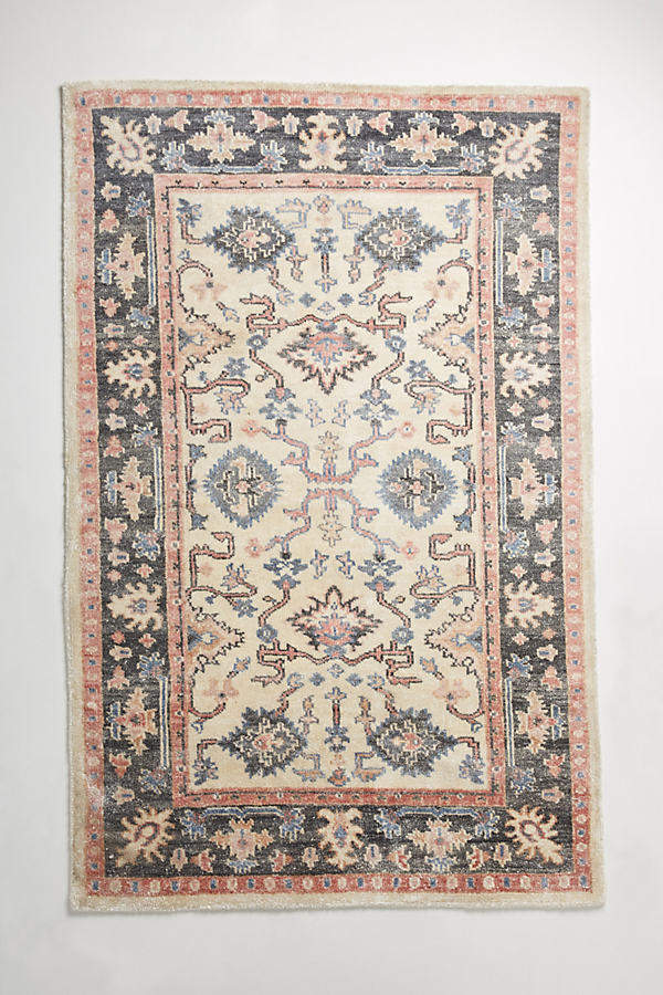 Istanbul Teppich – Stoffmuster - Neutral Motif