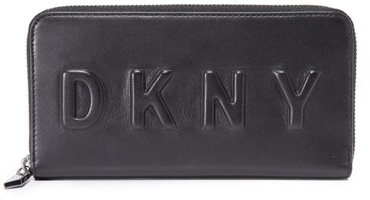DKNYDKNY Large Zip Around Wallet