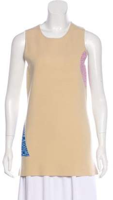 Nomia Abstract Print Sleeveless Knit Top w/ Tags