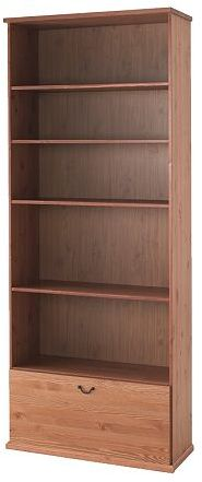 Alve Bookcase With Drawer