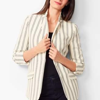 Talbots Aberdeen Knit Blazer - Textured Ponte - Stripe