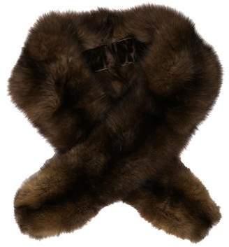 Sable Fur Scarf