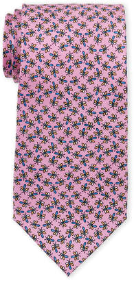 Pierre Cardin Dragonfly Print Silk Tie