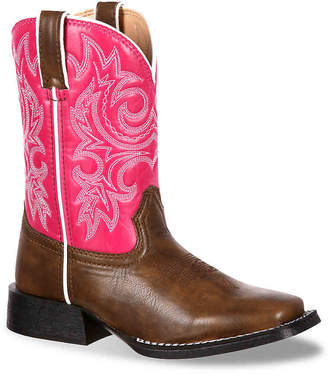 Durango Western Toddler & Youth Cowboy Boot - Girl's