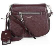 Marc Jacobs Recruit Small Leather Saddle Crossbody Bag