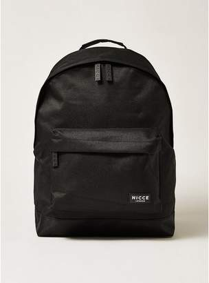 Nicce Mens Black 'Core' Backpack