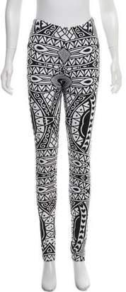 Kokon To Zai Abstract Print Leggings
