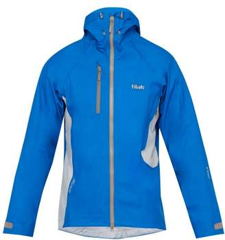Tilak - Attack Hooded Windbreaker Jacket - Mens - Blue Multi