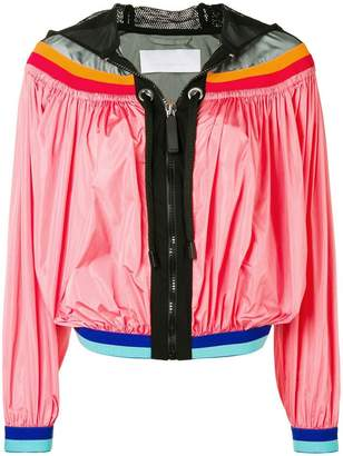 NO KA 'OI No Ka' Oi colour-block zipped jacket