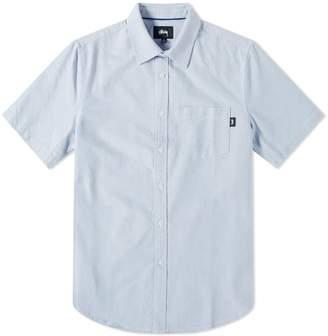 Stussy Short Sleeve Frank Oxford Shirt