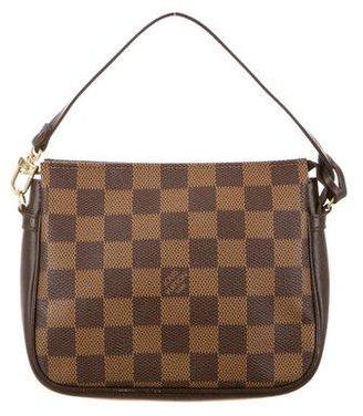 Louis Vuitton Damier Trousse Pochette $345 thestylecure.com