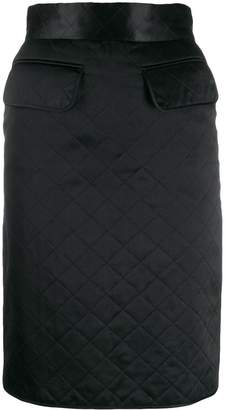 Chanel Pre-Owned 1990s diamond quilted skirt