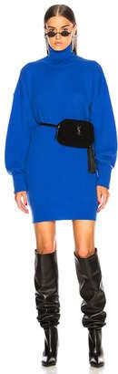 Maison Margiela Elbow Patch Sweater Dress