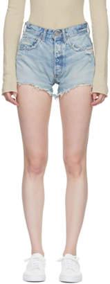 Moussy Vintage Blue Etna Denim Shorts