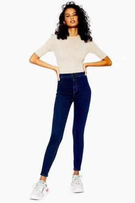 Topshop Womens Tall Indigo Joni Jeans