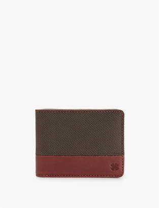 Lucky Brand Nylon Leather Wallet