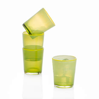 Caravan Home Decor Lime Summer Glasses (Set of 4)